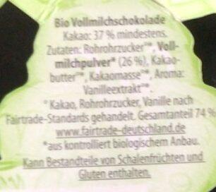 Bio Schokohase - Ingrediënten - de