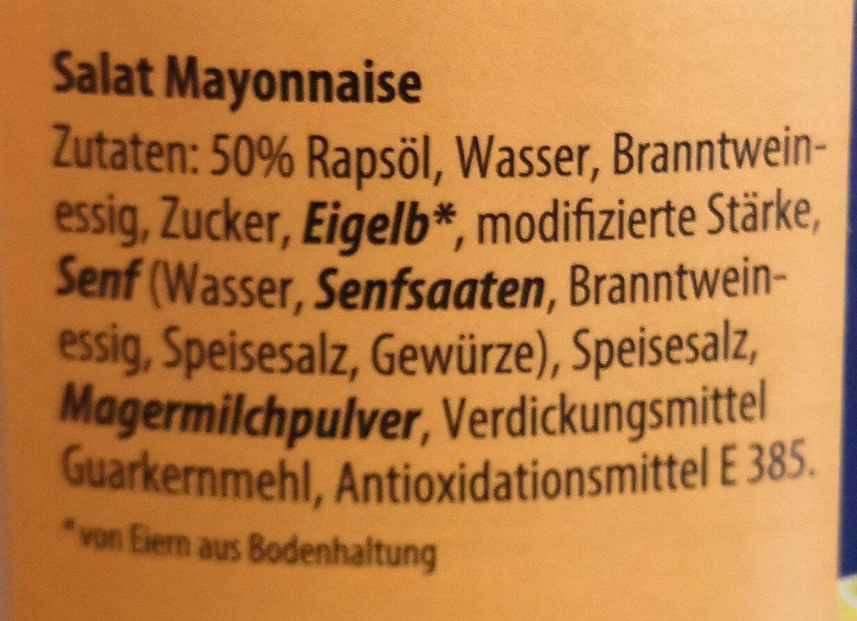 Salat Mayonnaise - Zutaten - de