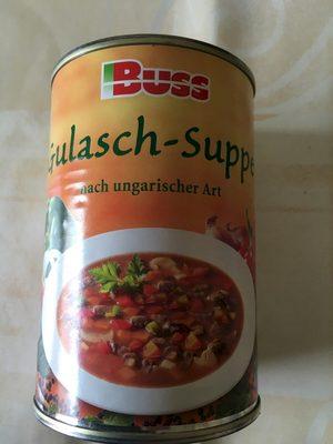 Gulasch-Suppe nach ungarischer Art - Produit - fr