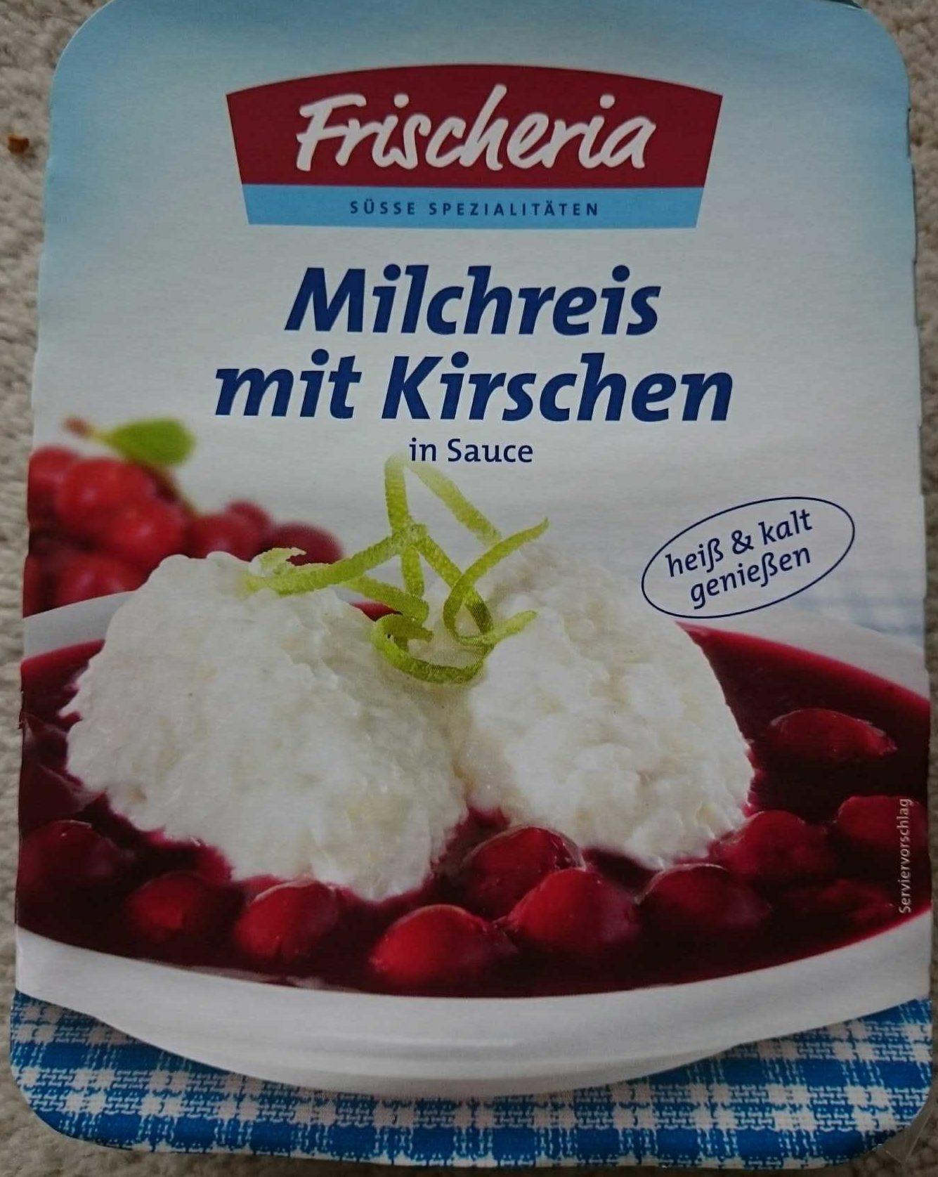 Milchreis mit Kirschen - Product - de