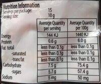 Brite Crawlers - Nutrition facts - en