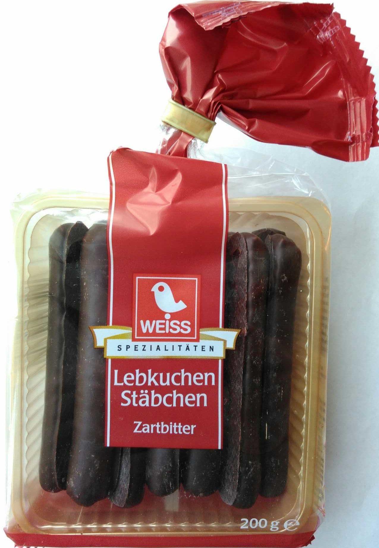Lebkuchenstäbchen Zartbitter - Produit - de