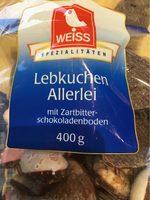 Lebkuchen Allerlei - Informations nutritionnelles
