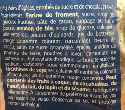 Weiss Lebkuchen-allerlei - Ingrédients - fr
