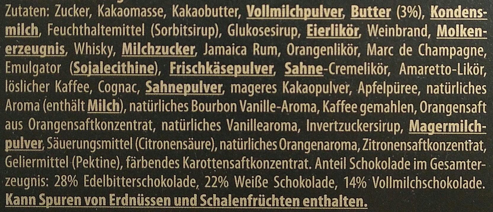 Götterfunken - Ingredients