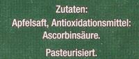 Apfel Direktsaft - Ingredients - de