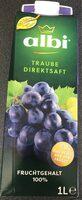 Albi Traube Direktsaft 1l Ew - Produit - de