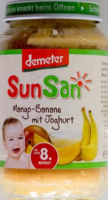 Mango-Banane mit Joghurt - Produkt