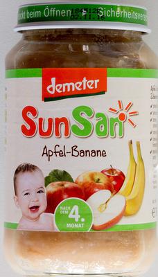 Apfel-Banane - Produkt