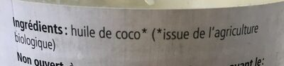Vitaquell Kokosöl Mild - Ingrédients - fr