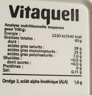 Vita Coco - Voedingswaarden - fr
