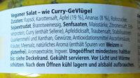 Wie Curry-GeVlügel Salatgenuss-fruchtig-pikant - Ingrédients - de