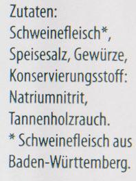 Schwarzwälder Bauchspeck - Ingrédients - de