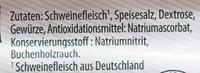 Edelschinken - Ingredients