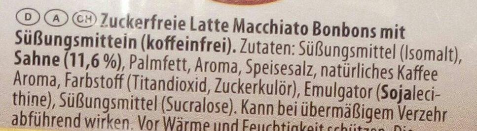 Latte macchiato - Ingrédients - de