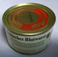 Hausmacher Blutwurst - Produkt