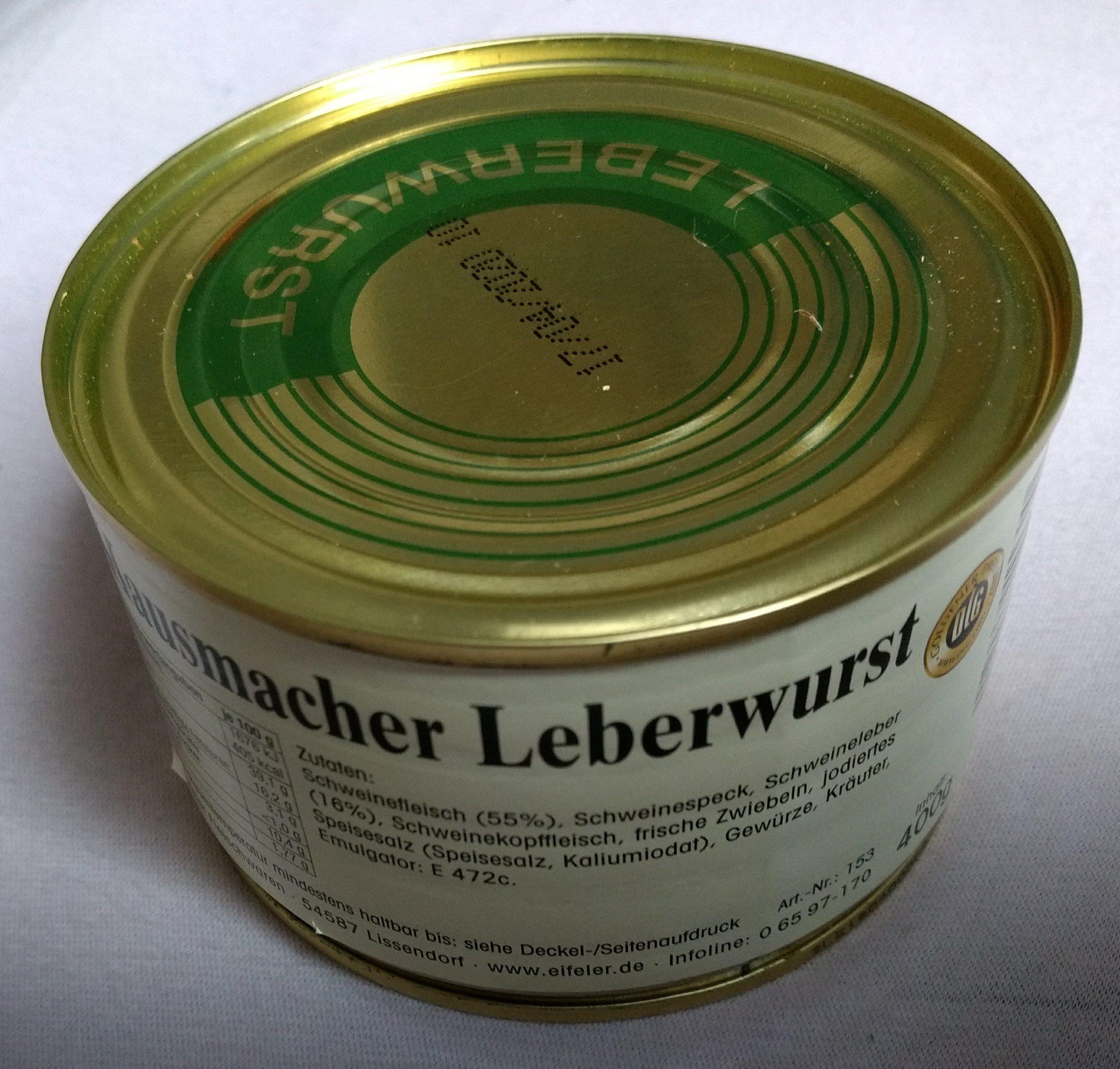 Hausmacher Leberwurst - Product - de
