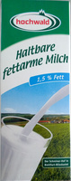 Haltbare fettarme Milch - Product
