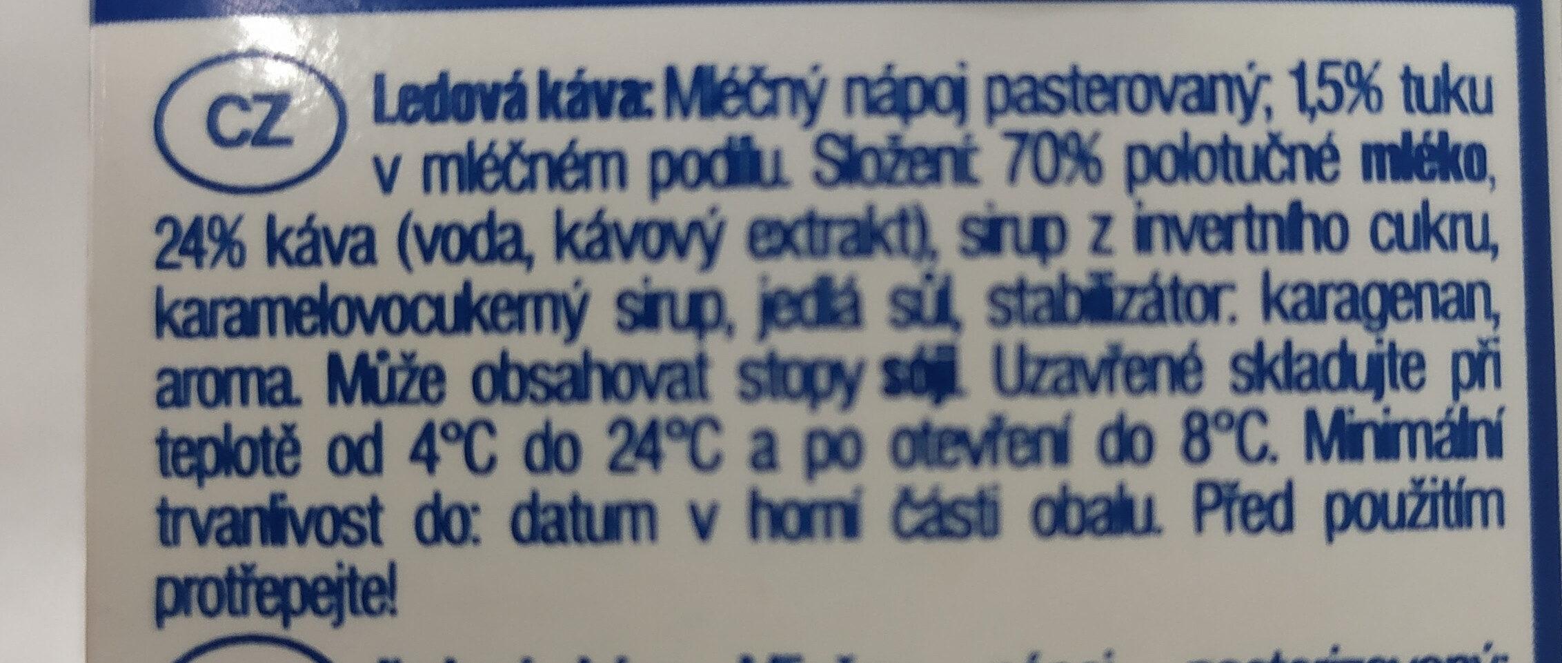 Eiskaffe - Ingredients - cs