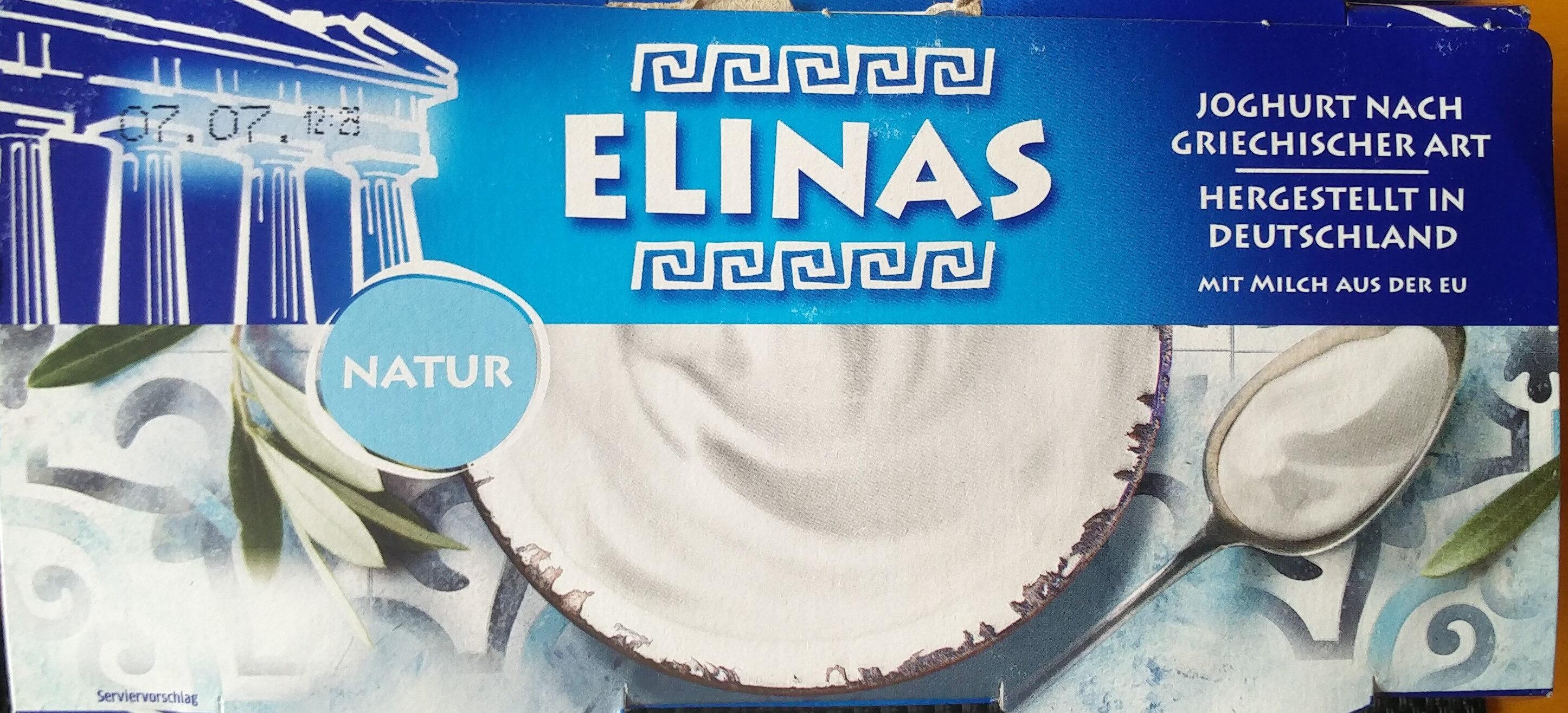 Joghurt nach griechischer Art (Natur) - Produkt - de