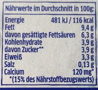 Joghurt nach griechischer Art (Natur) - Nährwertangaben - de