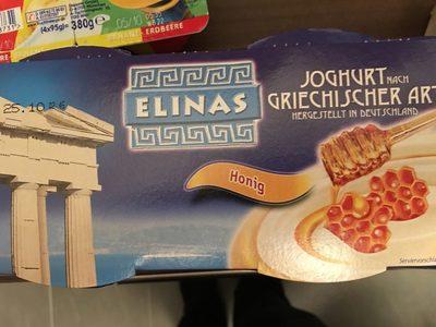 Joghurt nach Griechischer Art Honig - Produkt - de