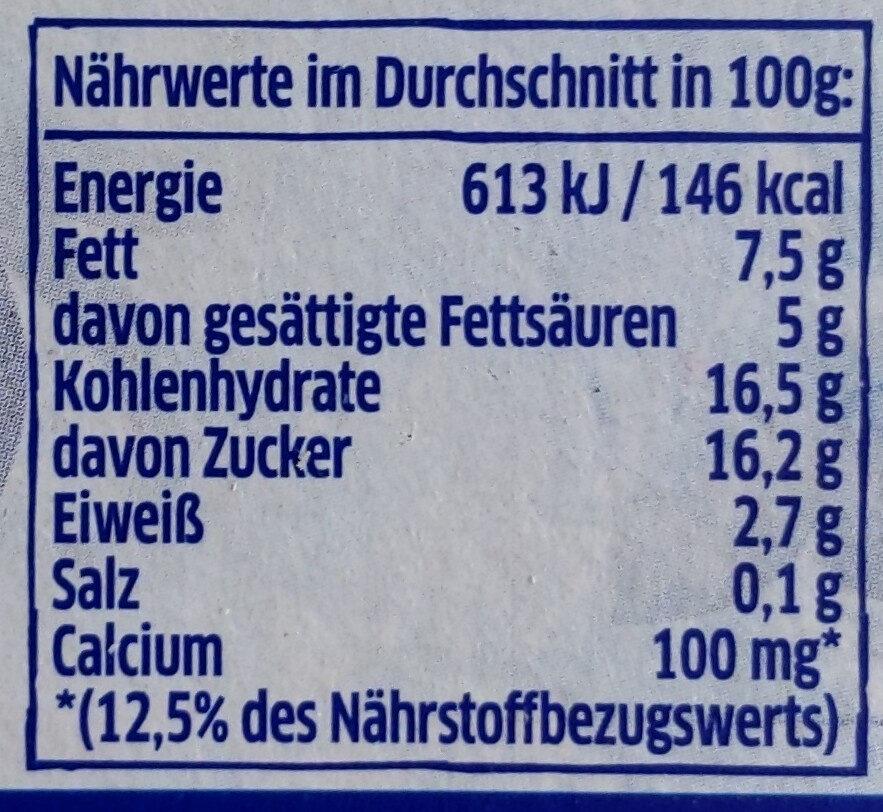 Joghurt nach Griechischer Art Honig - Nährwertangaben - de