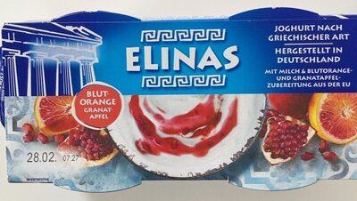 Joghurt nach griechischer Art Blutorange-Granatapfel - Produkt