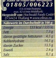Joghurt nach griechischer Art Blutorange-Granatapfel - Voedingswaarden - de