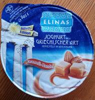 Joghurt nach griechischer Art - Produkt - de