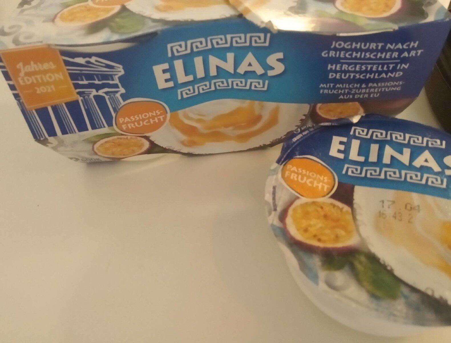 Elias Passionsfrucht - Produkt - en