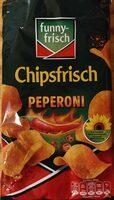 Chipsfrisch Peperoni - Prodotto - de