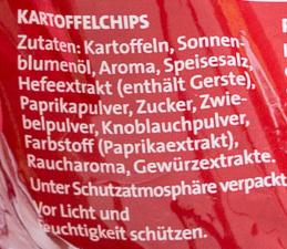 Chipsfrisch ungarisch - Ingrediënten