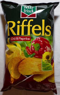 Riffels Chili & Paprika - Produit - de