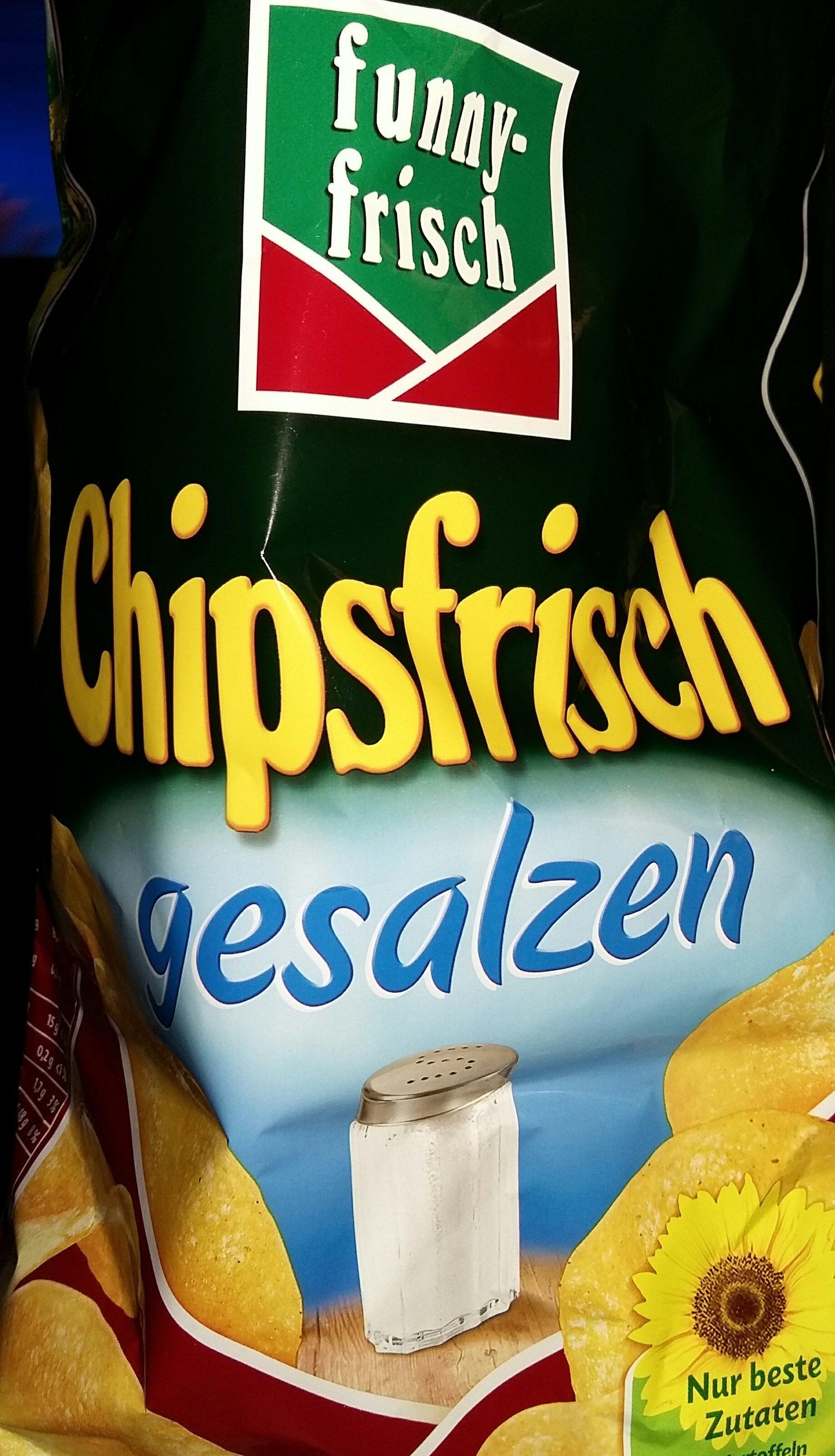 Funny-frisch Chipsfrisch Gesalzen - Producto - de