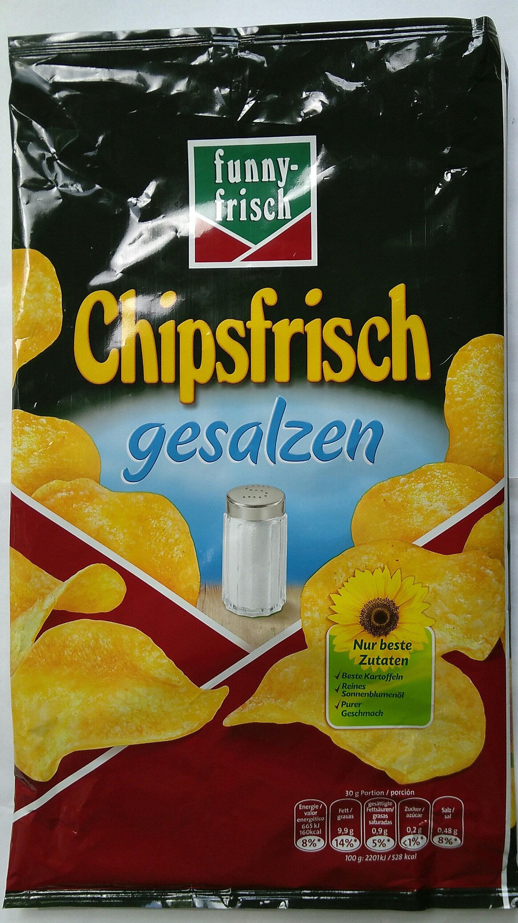 Chipsfrisch gesalzen - Produit - de
