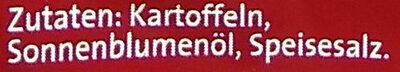 Chipsfrisch gesalzen - Ingredients - de