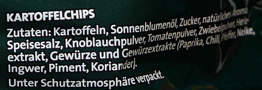 Chipsfrisch Oriental - Ingredienti - de