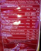 Funny-frisch Chipsfrisch Currywurst Style 175G - Informations nutritionnelles - fr