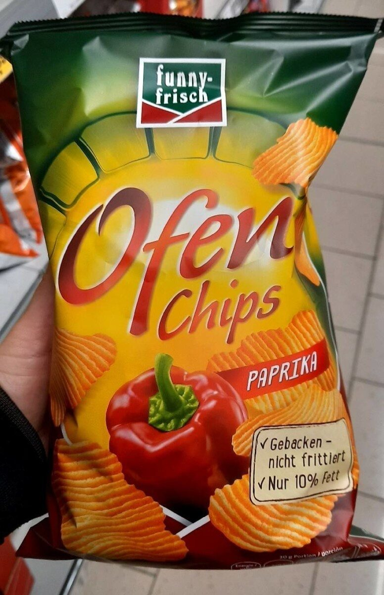 Ofen Chips Paprika - Product - de