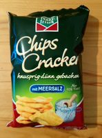 Chips Cracker (mit Meersalz) - Produkt - de