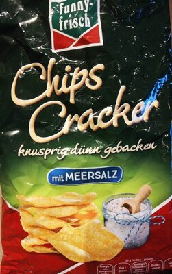 Chips Cracker (mit Meersalz) - Produit - fr