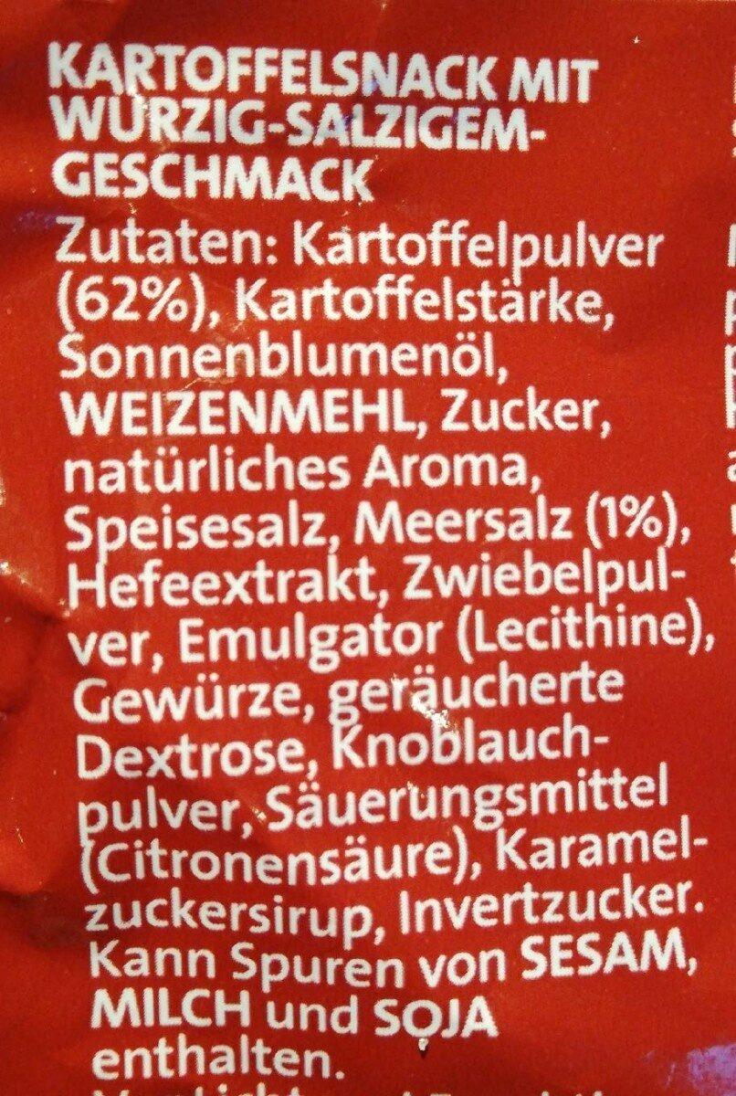 Chips Cracker (mit Meersalz) - Ingrédients - fr