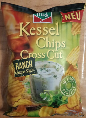 Kessel Chips Cross Cut Ranch Sauce Style - Prodotto - de
