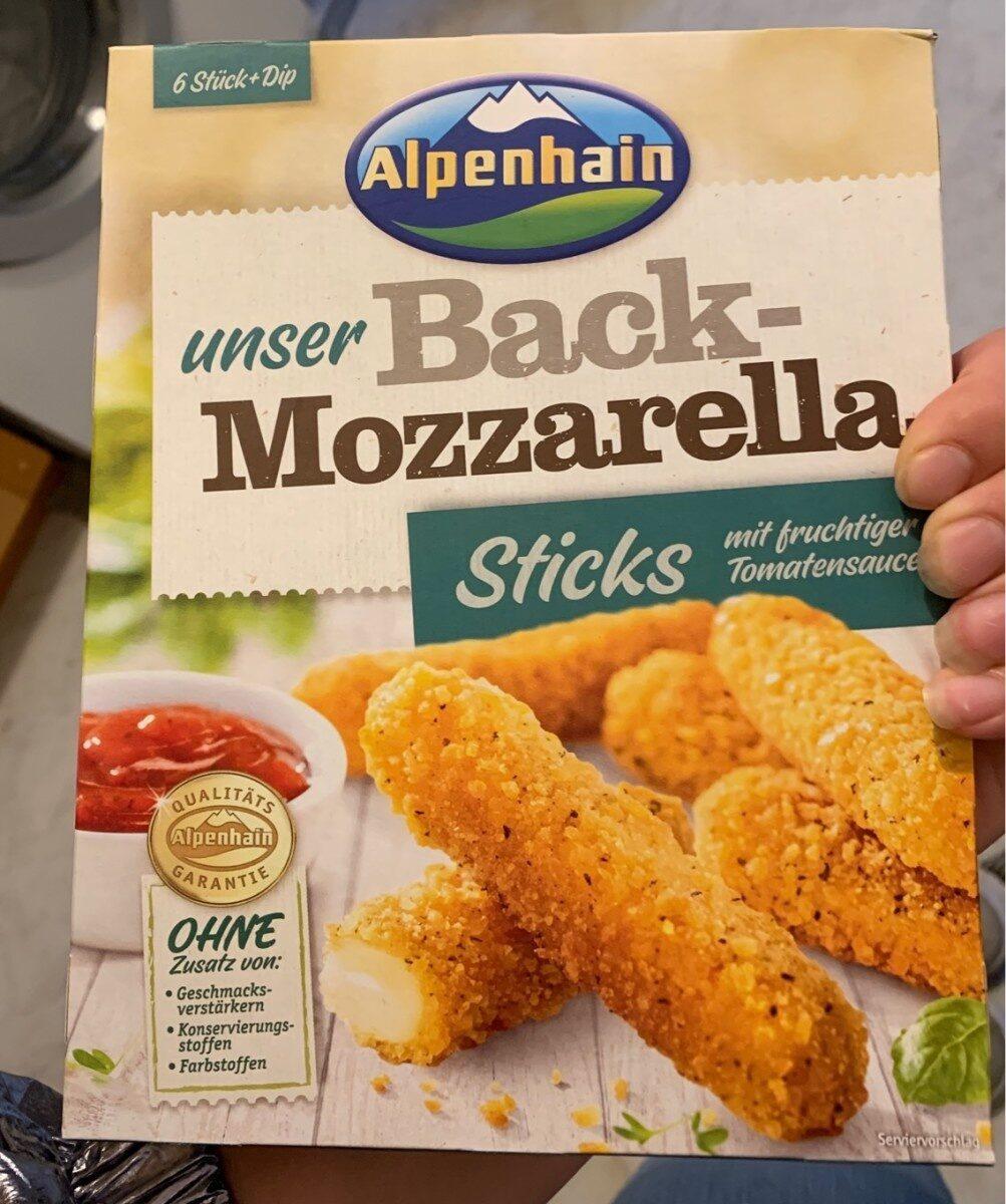 Mozzarella Sticks Mit Tomatensauce - Prodotto - de