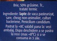 Alpenhaim Branza Brie - Inhaltsstoffe - ro