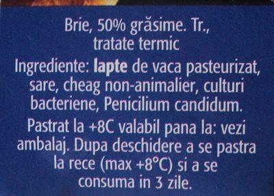Alpenhaim Branza Brie - Inhaltsstoffe