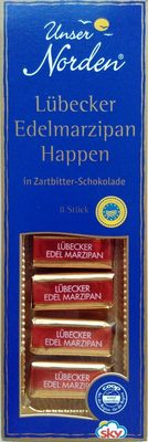 Lübecker Edelmarzipan Happen - Produkt