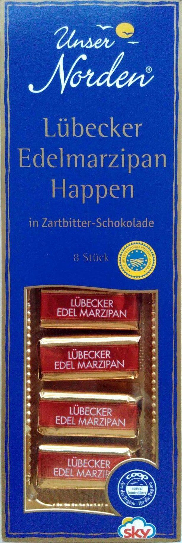 Lübecker Edelmarzipan Happen - Produit - de