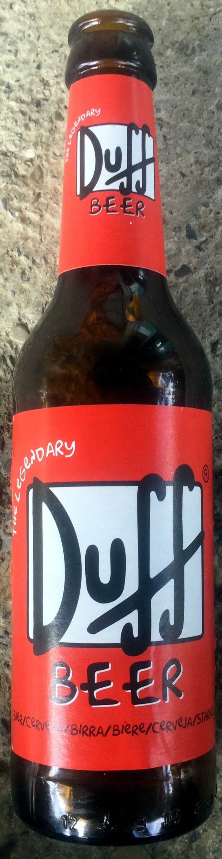 The legendary Duff Beer - Product